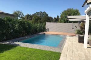 Gartenumgestaltung mit Pool Weinfelden