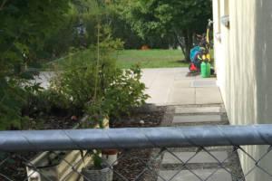 Garten mit Pool - Ansicht vorher 03