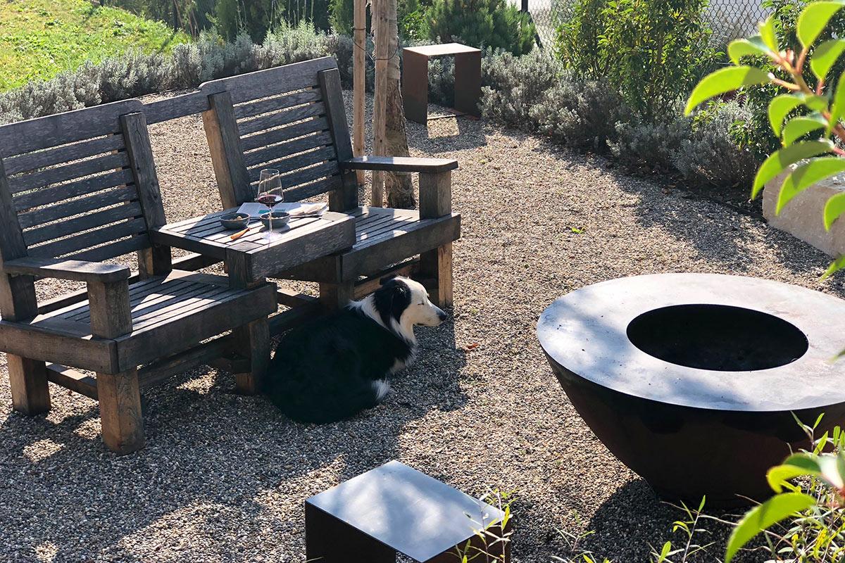 Gartengeschichte Pensionierung