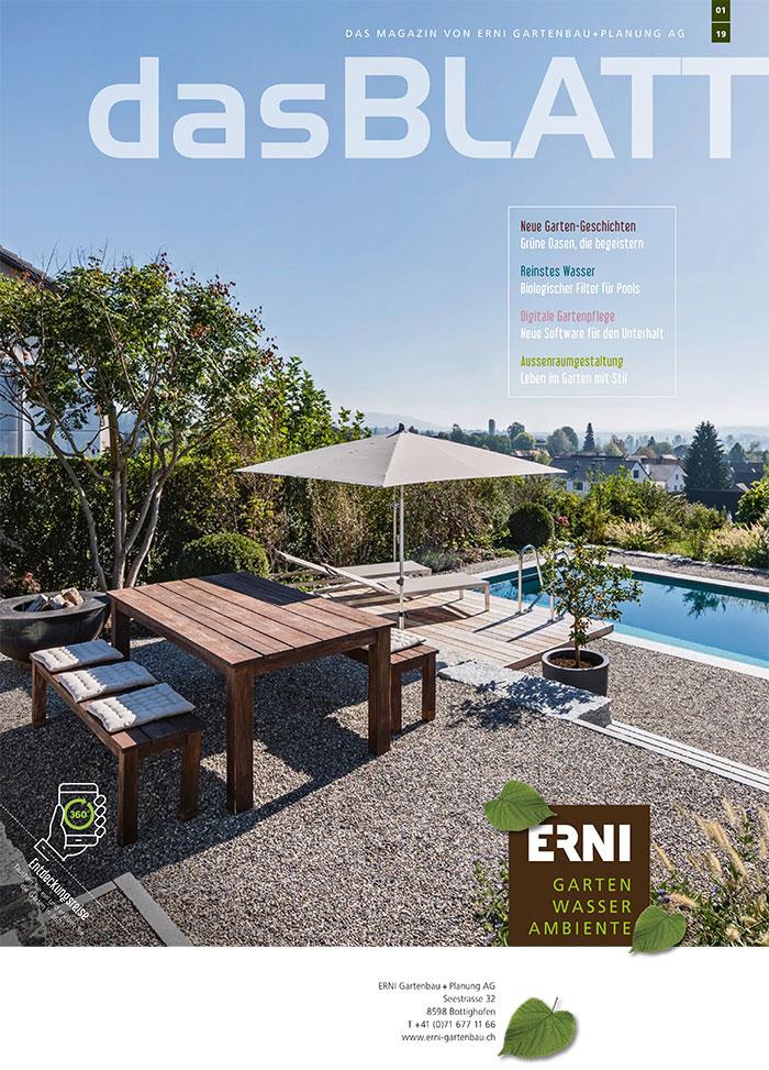 Erni Gartenmagazin 01/2019