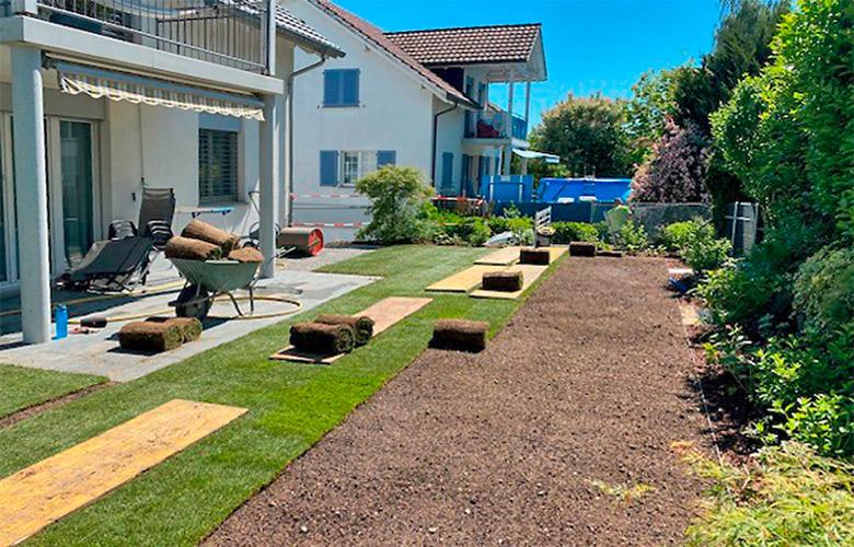 Gartenrenovation – Bau
