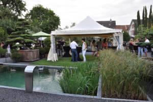 Garten Apéro August 2017
