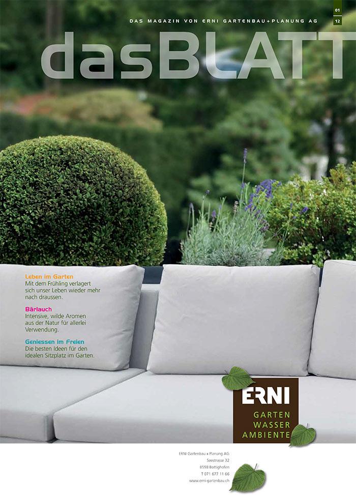 Gartenmagazin 01/2012