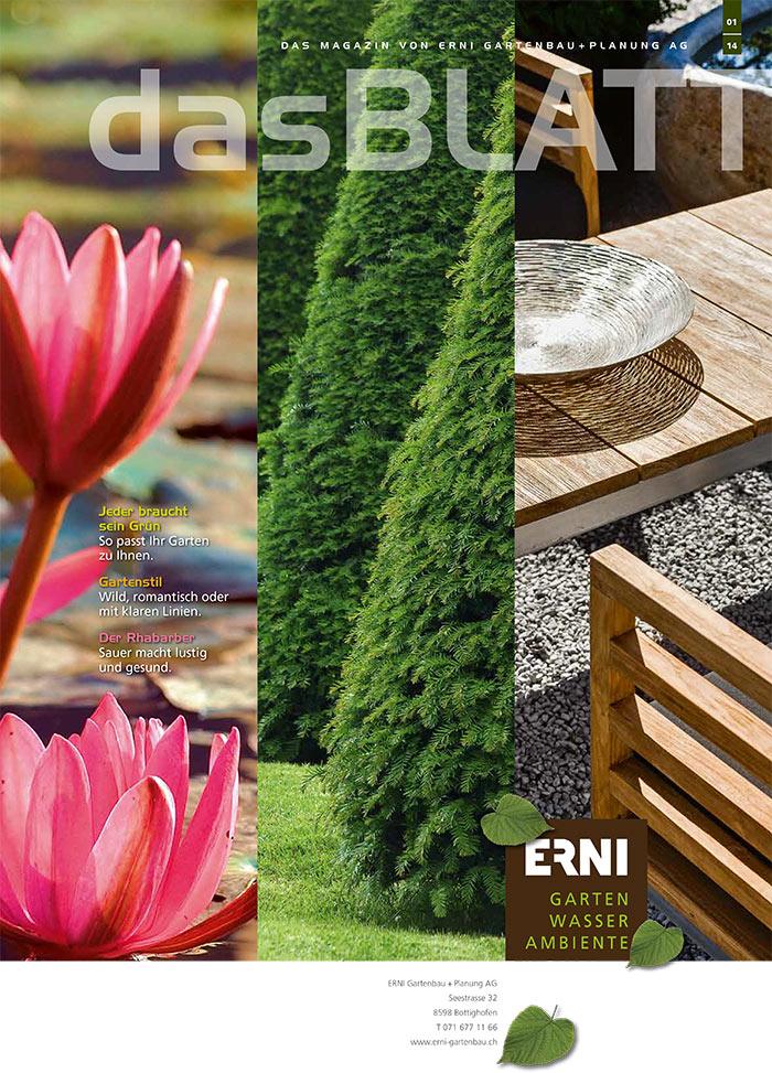 Gartenmagazin 01/2014