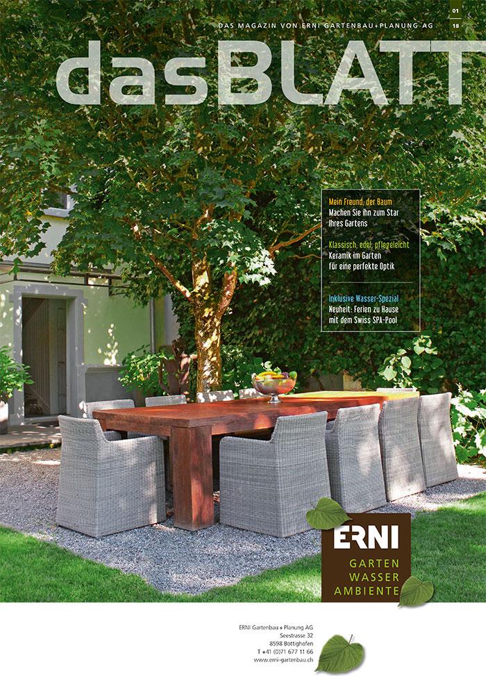 Erni Gartenmagazin 01/2018
