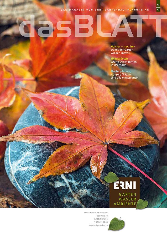 Gartenmagazin 02/2014
