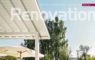 Erni Gartenmagazin Spezial Renovation