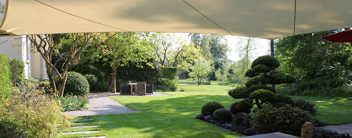 Garten Beschattung