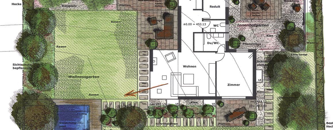 Gartenplanung-Landschaftsarchitektur